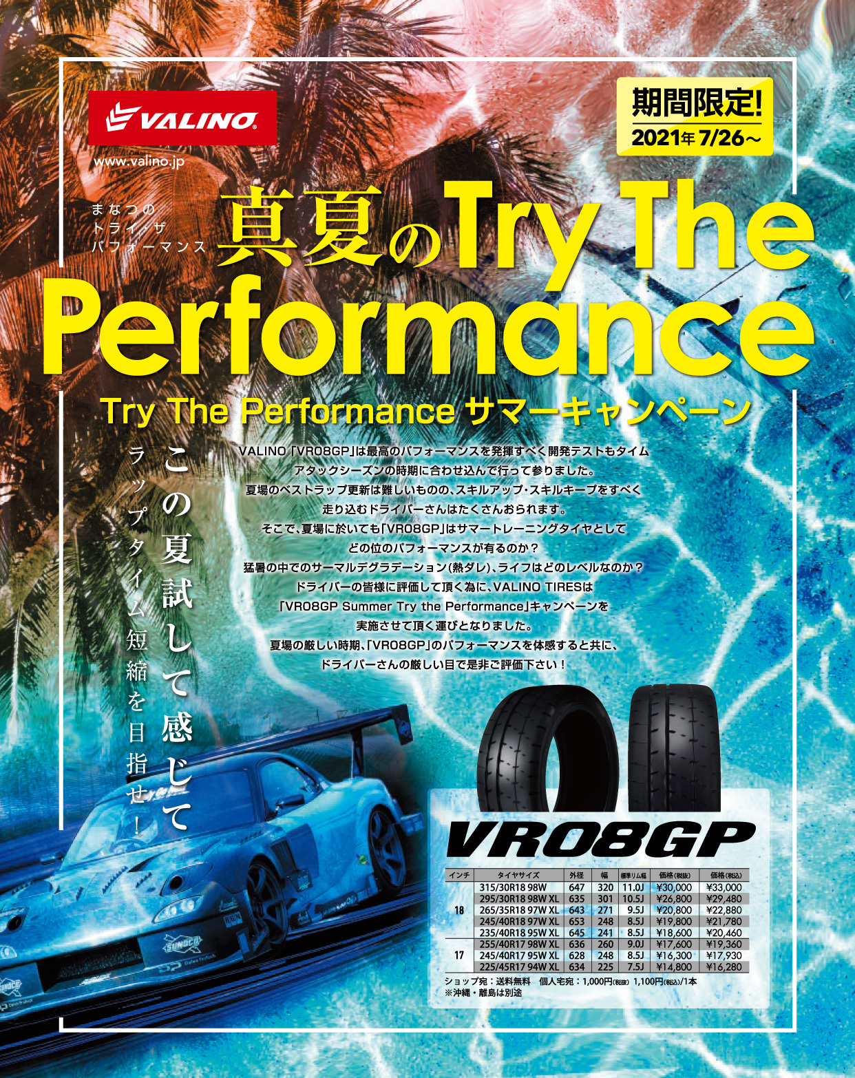 Try The Performance